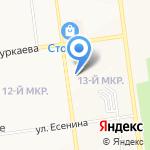 Импульс на карте Южно-Сахалинска