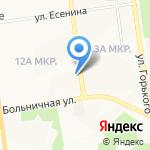 СахалинСтрой на карте Южно-Сахалинска