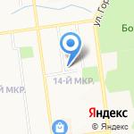 Копилка знаний на карте Южно-Сахалинска