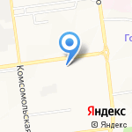 Прокатная компания на карте Южно-Сахалинска