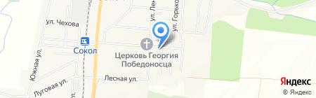 Ольга на карте Старорусского
