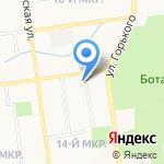 Социальный на карте Южно-Сахалинска