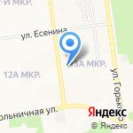 Маркет на карте Южно-Сахалинска