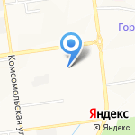 ЖКХ на карте Южно-Сахалинска