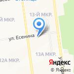 Любимый 24 на карте Южно-Сахалинска