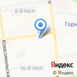 Курьер Сервис Южно-Сахалинск на карте Южно-Сахалинска