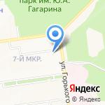 Светлячок на карте Южно-Сахалинска