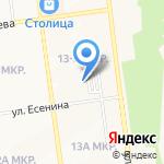 Радуга на карте Южно-Сахалинска