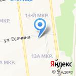 Clever на карте Южно-Сахалинска