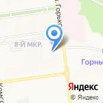 ИРОСО на карте Южно-Сахалинска