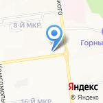 Школа параглайдинга и спидфлаинга на карте Южно-Сахалинска