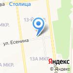 Kidsparty на карте Южно-Сахалинска