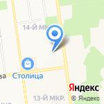 TRENDY на карте Южно-Сахалинска