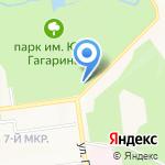Компания по прокату велосипедов на карте Южно-Сахалинска
