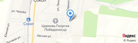 Продовольственный магазин на карте Старорусского