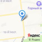 Политехнический колледж на карте Южно-Сахалинска