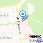 Городская больница им. Ф.С. Анкудинова на карте Южно-Сахалинска