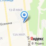 К-9 на карте Южно-Сахалинска
