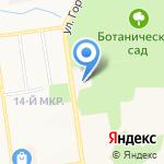 Красивая профессия на карте Южно-Сахалинска