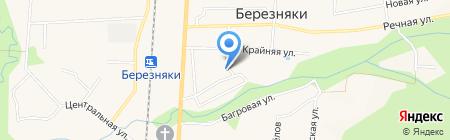 Библиотека №16 на карте Березняков
