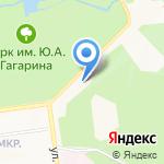 Гидрострой-тур на карте Южно-Сахалинска