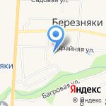Средняя общеобразовательная школа №34 на карте Южно-Сахалинска