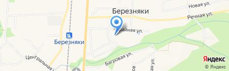 Средняя общеобразовательная школа №34 на карте Березняков