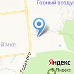 Отдел курсовой подготовки на карте Южно-Сахалинска