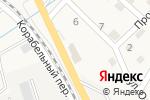 Схема проезда до компании Qiwi в Корсакове