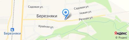 Фортуна на карте Березняков