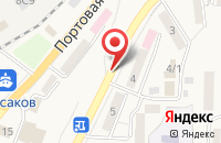 Схема проезда до компании Гидробионт в Корсакове