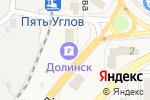 Схема проезда до компании Прачечная в Корсакове