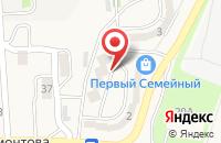 Схема проезда до компании Ен-Бе в Корсакове