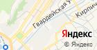 Магазин овощей и фруктов на Крутой на карте