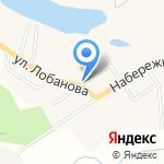 Продовольственный магазин на карте Южно-Сахалинска