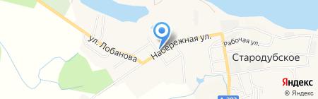 Вила на карте Стародубского