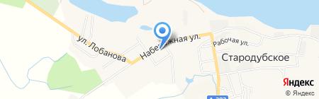 Санита на карте Стародубского