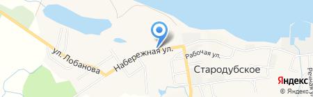 Эконом на карте Стародубского