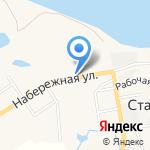 Жасмин на карте Южно-Сахалинска