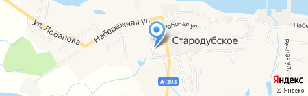 Горница на карте Стародубского