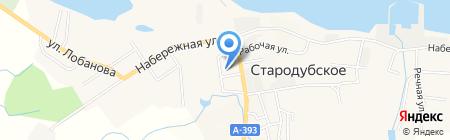 Дюймовочка на карте Стародубского