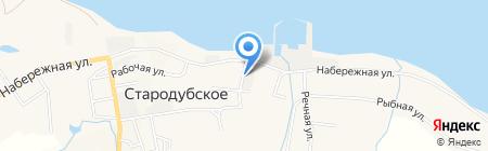 Дельта на карте Стародубского