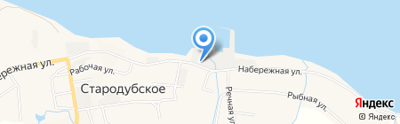 Рыболовецкий колхоз им. Котовского на карте Стародубского