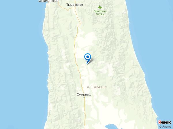 поселок Абрамовка на карте