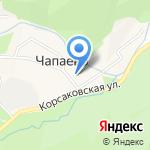 Корсаковская Центральная библиотека на карте Южно-Сахалинска