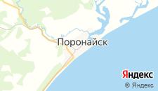 Отели города Поронайск на карте