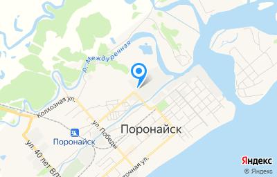 Местоположение на карте пункта техосмотра по адресу Сахалинская обл, г Поронайск, ул Хабаровская, стр 18