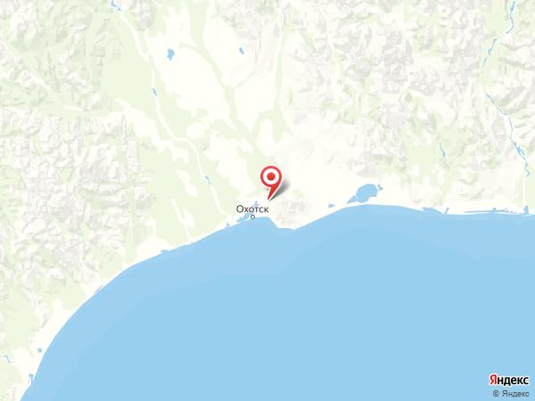 поселок Кирпичный на карте