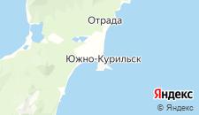 Гостиницы города Южно-Курильск на карте