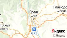 Отели города Грац на карте